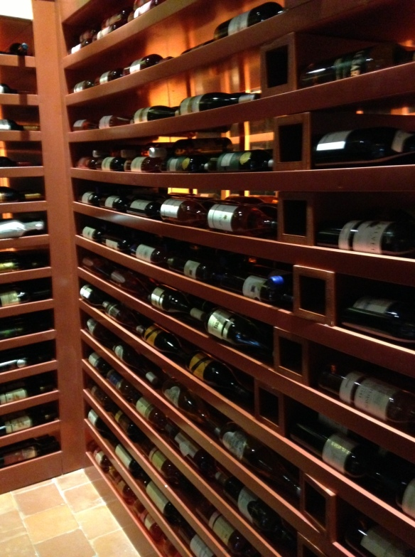 The cellar with an 80% selection of the best Lebanese wine