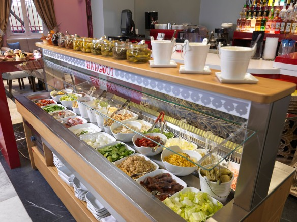 The Salad Bar!